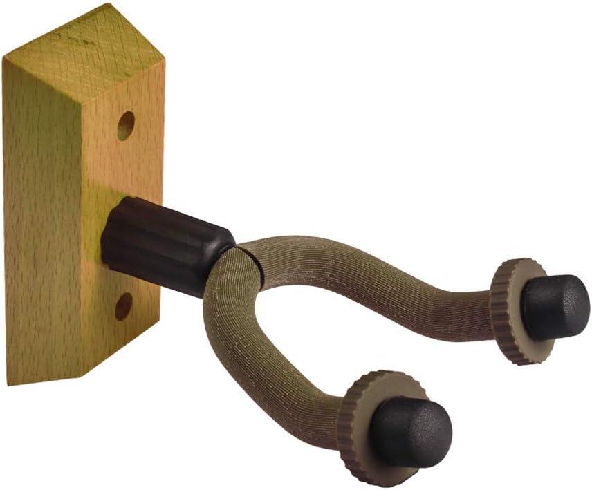 Artibetter Soporte de montaje en pared para guitarra de madera ...