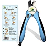 Pro Pet Works [CLEARANCE SALE] Dog Nail Clippers Trimmer With Nail File For Grooming Large Dogs And Small Dogs And Cats-Quick Guard Sensor Inc-Best Dog Nail Trimmer And Dogs Clippers