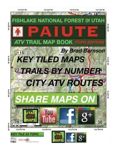Paiute ATV Trail Map Book (topo edition)