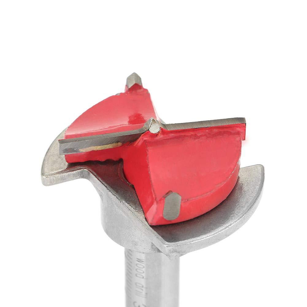 35 mm Juego de Brocas Herramienta de Taladrado para Taladradoras de Madera Taladradora de Posicionamiento de Carpinter/ía Ajustable
