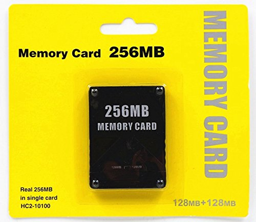 Ankong 2PCS 256MB Memory Card Game Memory Card for Sony P...