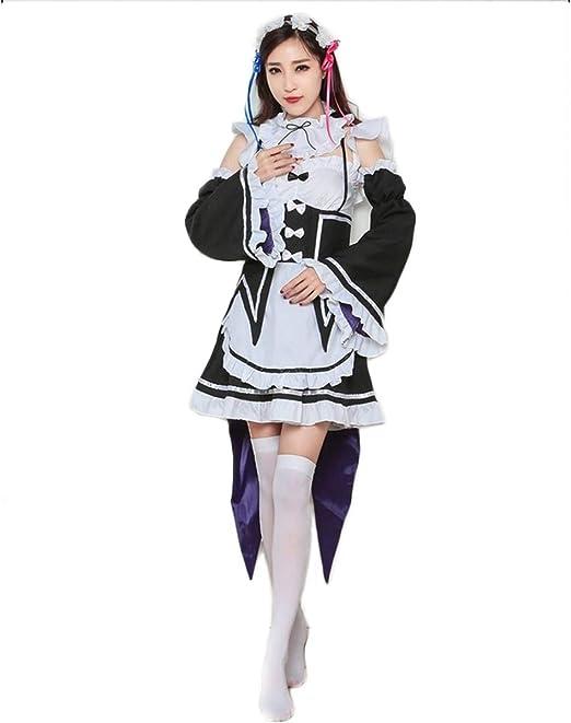 GRYY Cosplay Anime, Disfraz de mucama Princesa loli Dress up Anime ...
