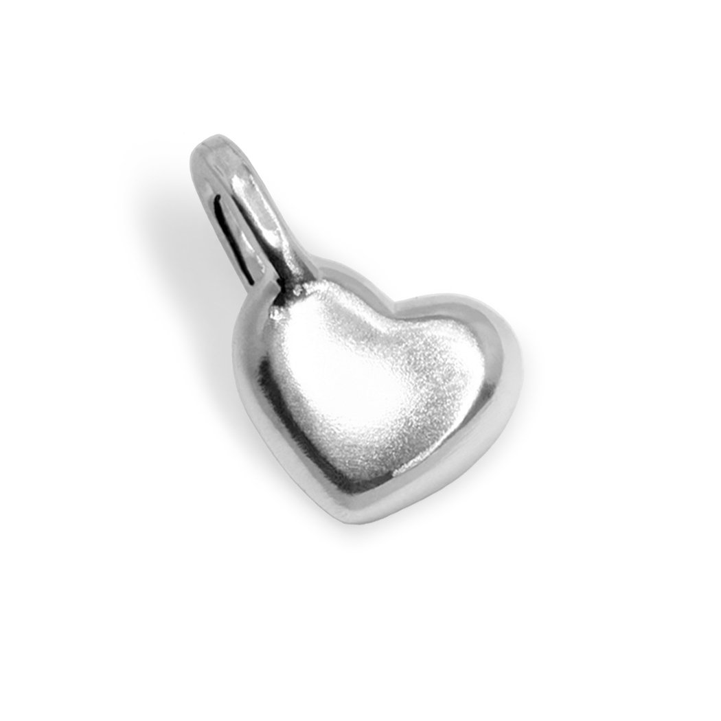 Alex Woo Mini Additions Sterling Silver Heart Charm