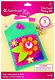 Best American Girl Crafts Books For 9 Year Old Girls - American Girl Crafts Coin Purse Sewing Kit Review