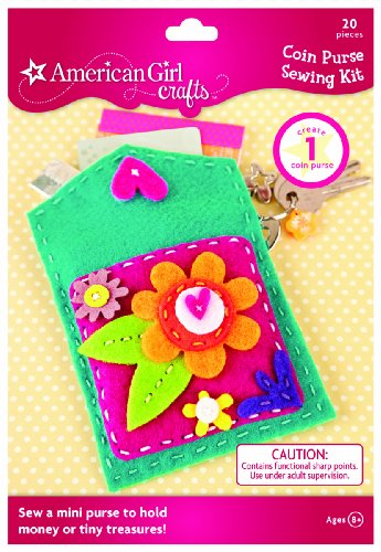 Sewing Coin Purse - American Girl Crafts Coin Purse Sewing Kit