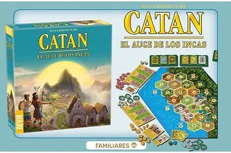 Promohobby Catan EL Auge DE LOS INCAS: Amazon.es: Juguetes y juegos