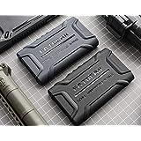 for Sony Walkman NW-A35HN A36HN A37H A40 A45 A46 A47 Rugged Shockproof Armor Case Cover (Black)