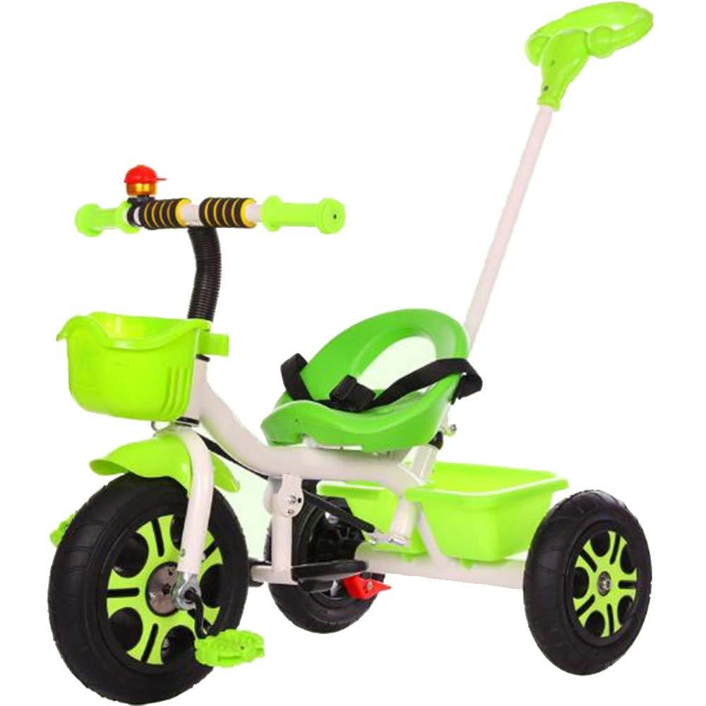 ofreciendo 100% verde YUMEIGE triciclos Triciclo de niños Titanio Rueda vacía 1-6 1-6 1-6 años de Edad Cumpleaños Regalo Niños Cochecitos Trike Carga Weight100Kg Disponible (Color   verde)  grandes precios de descuento