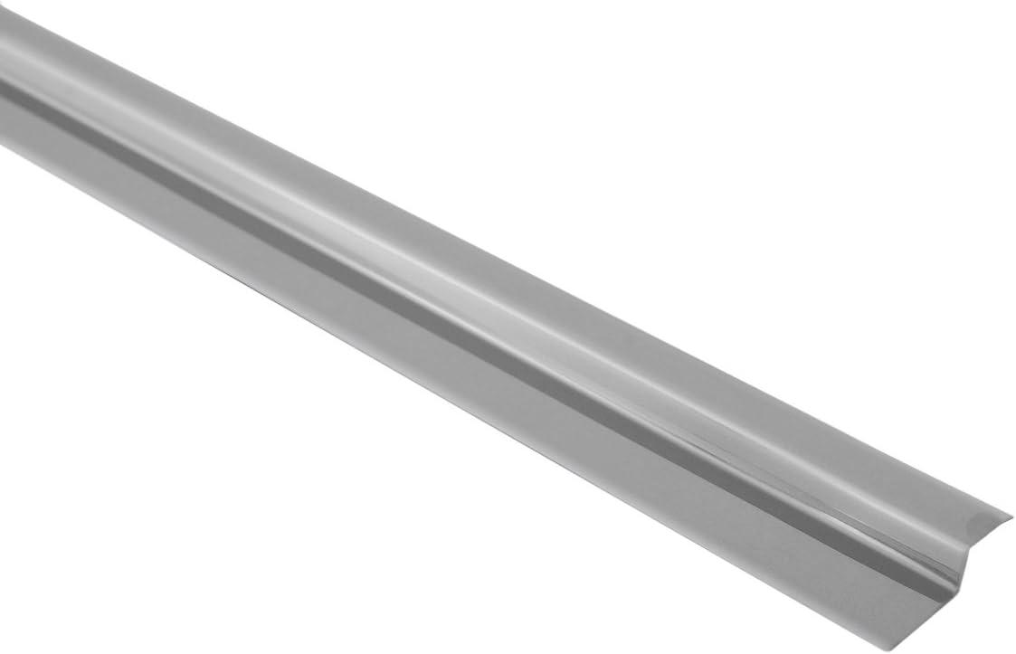 Brinox B801704 Tapajuntas gres adhesivo, Plata, 100 cm