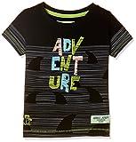 Gini & Jony Baby Boys' Plain Regular Fit T-Shirt (121246518339 C207_Black_12M)
