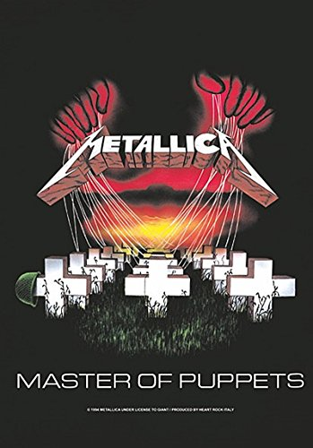 Metallica Master of Puppets Textile Poster/Flag