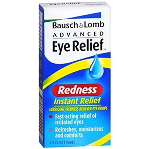 Bausch and Lomb avancée Dégagement oculaire instantanée de secours Rougeur Reliever Drops - 0,5 oz
