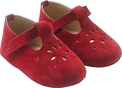 Tichoups Chaussures b/éb/é cuir souple Salom/é marine 16//17