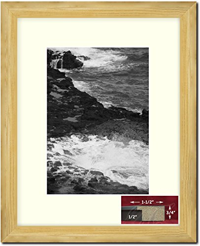 Gold Frames by Mail multimat-58815-434b Collage Frame with Twelve 4 x 5 One Square Opening for 8 x 10 Photo