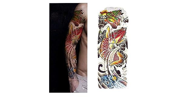 7pcs Pieza de reloj de arena tatuaje patrón de tatuaje de la flor ...