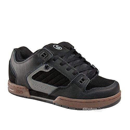 DVS Militia Shoes Black Gunny Nubuck (Mens Militia Shoe)
