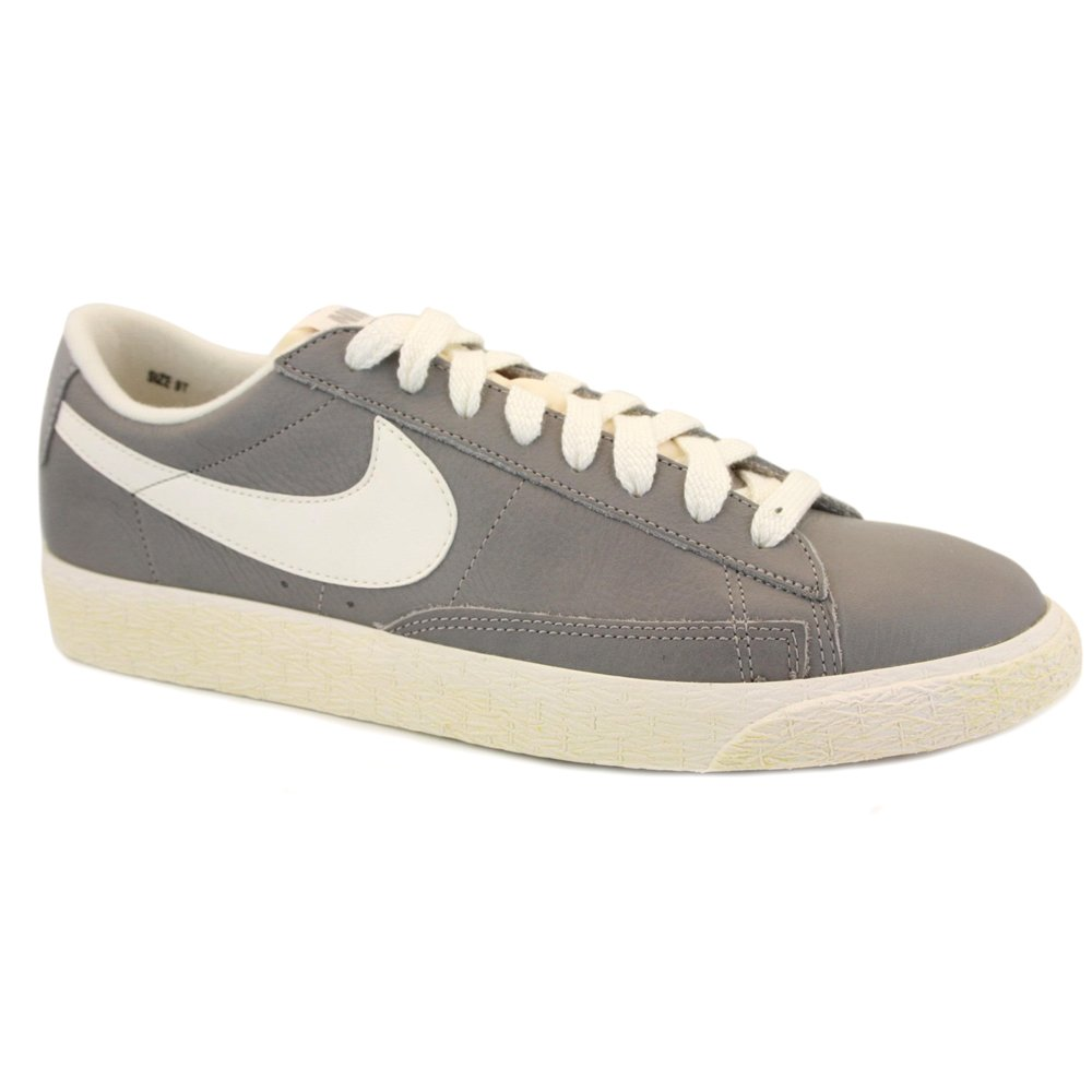 new products 1552a 1d969 Nike Blazer Low Vintage 555282 001 Womens Laced Leather ...