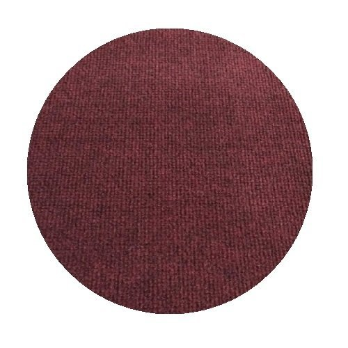 7' Round - BRICK RED - ECONOMY INDOOR / OUTDOOR CARPET Patio & Pool Area Rugs |Light Weight INDOOR / OUTDOOR Rug - EASY Maintenance - Just Hose Off & Dry! - 10 Colors to Choose From (Area Brick Rugs)