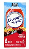 Crystal Light On The Go Fruit Punch Drink Mix, 10-Count Boxes (Pack of 40)