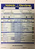Auto Repair Multi Point Vehicle Inspection Form - 7290 (1000 Quantity)