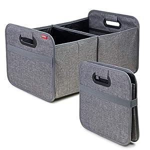 achilles Auto Faltbox, Kofferraumtasche faltbar, Einkaufstasche, Kofferraum-Organizer, Autotasche, Falt-Korb, Falttasche…