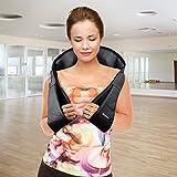 Shiatsu Neck Back Massager with Heat– Perfect for Car/Office Chair – Massages Neck, Shoulder, Back, Waist (Black)