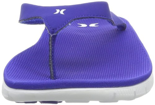 Hurley (Shoes) Phantom Nike Free Sandal - Chanclas Mujer Azul (Blau (Westminster Blue))
