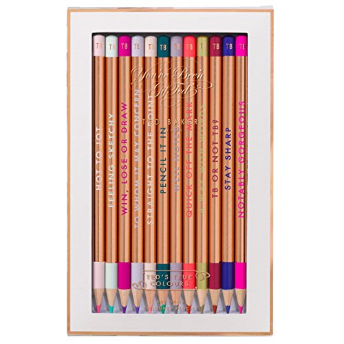 Ted Baker Colored Pencils, (Set of 12)