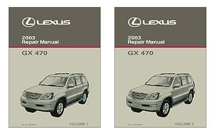 amazon com bishko automotive literature 2003 lexus gx 470 shop rh amazon com lexus gx 470 owner's manual 2009 lexus gx 470 owners manual