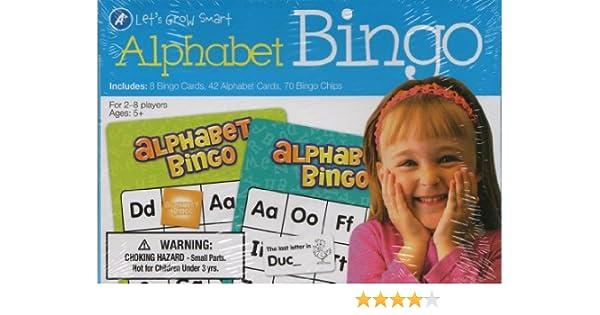 A+ Alphabet BINGO (Lets Grow Smart): Dalmatian Press: 9781453065754: Amazon.com: Books