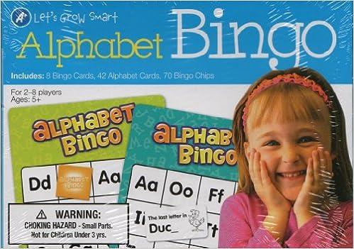 A+ Alphabet BINGO (Lets Grow Smart) Cards – 2013