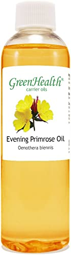 Evening Primrose 4 fl oz 118 ml Plastic Bottle w Cap 100 Pure Carrier Oil GreenHealth