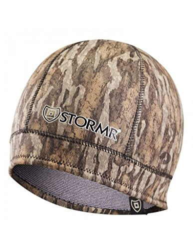 - Stormr Mens and Womens Waterproof Windproof 3 MM Premium Micro-Fleece Lined Neoprene Beanie best used for Hunting, Waterfowlers, Winter, Snow, and Camouflage