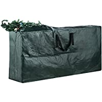 Elf Stor Premium Green Christmas Tree Bag Holiday Extra Large for up to 9' Tree Storage