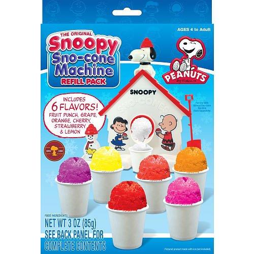 Snoopy Snow Cone Maker Refill -