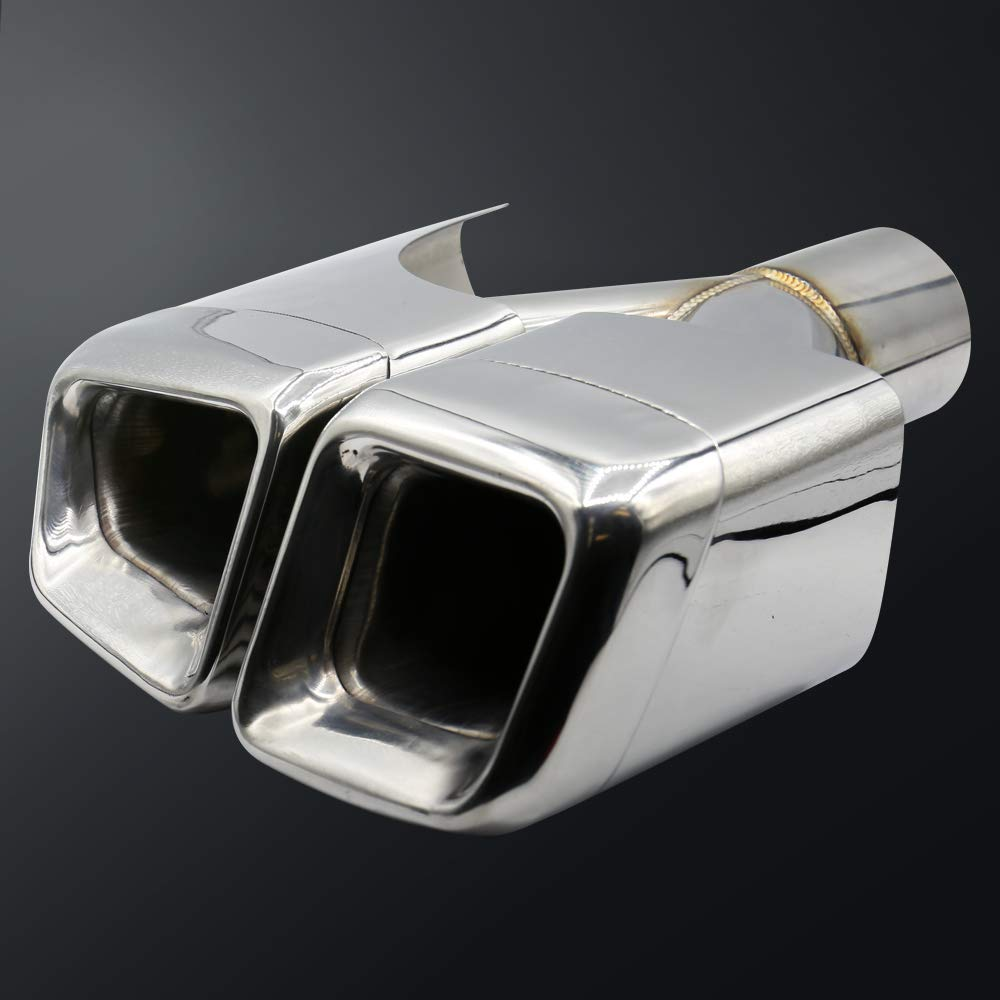 Syneticusa Version 2 Exhaust Tips Muffler End Fit for Benz E-Class W212 W204 W216 W218 W219 W207