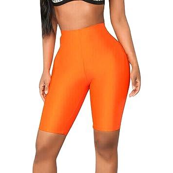 Baiomawzh Pantalones Yoga Mujeres Pantalones Cortos de ...