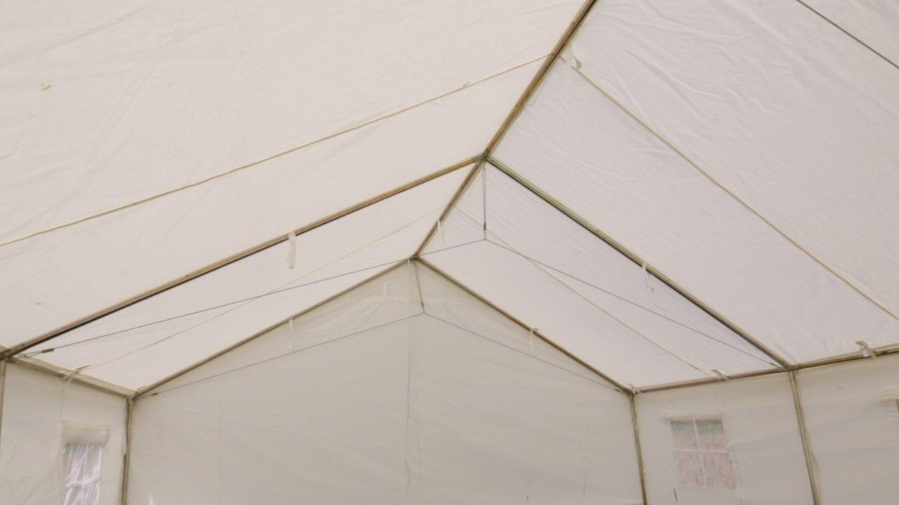 Amazon.com : 13 X 16 Canvas Wall Tent & Angle Kit : Sports & Outdoors