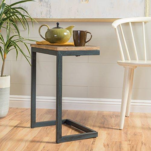 Ramona Medium Fir Wood Antique Table by GDF Studio
