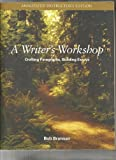 A Writer's Workshop, Bob Brannan, 0072522674