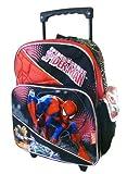 Marvle Spider-Sense Spiderman Rolling Backpack - kid size Spider-man Wheeled Backpack