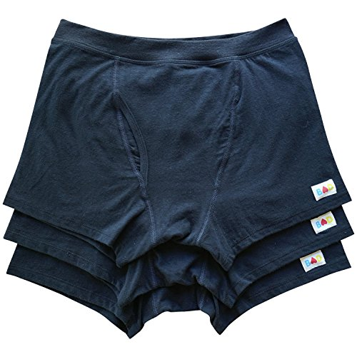 Price comparison product image ilovebad organics Organic Cotton & Hemp Boxer Briefs Men's Underwear (3-Pack)