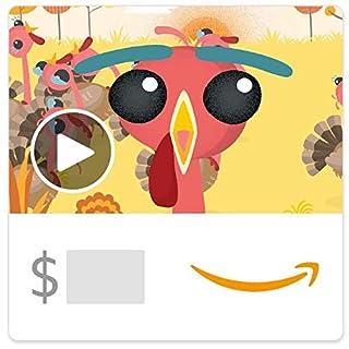 Amazon eGift Card - Turkey Run (Animated) (B07HHVDP2S) | Amazon price tracker / tracking, Amazon price history charts, Amazon price watches, Amazon price drop alerts