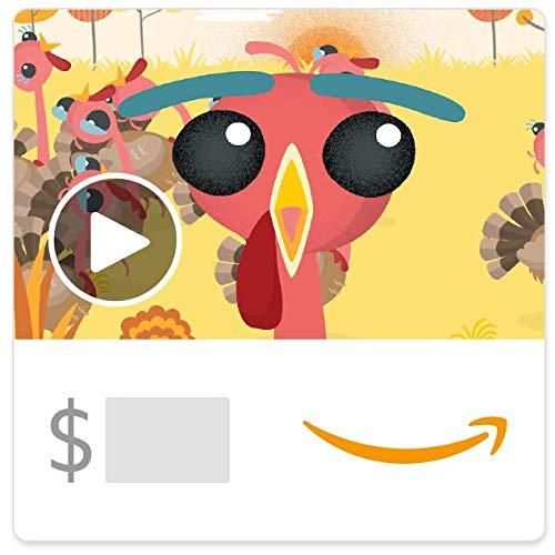 Amazon eGift Card - Turkey Run (Animated)