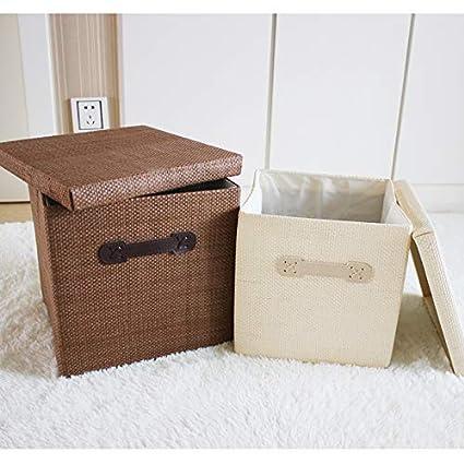 Drawer Type Simple Cloth Storage Box OSHA Household Big Fold Wardrobe Storage Box Storage Box Clothes Storage Box,White,313130CM