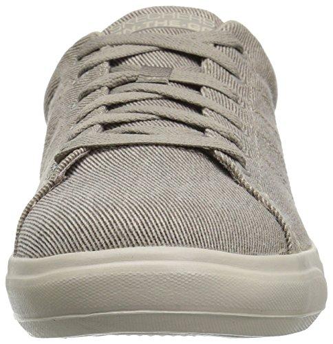 Skechers Performance Herren Go Vulc 2-54347 Sneaker Khaki