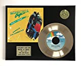 #9: Beverly Hills Cop LTD Edition Gold 45 Record Display M4