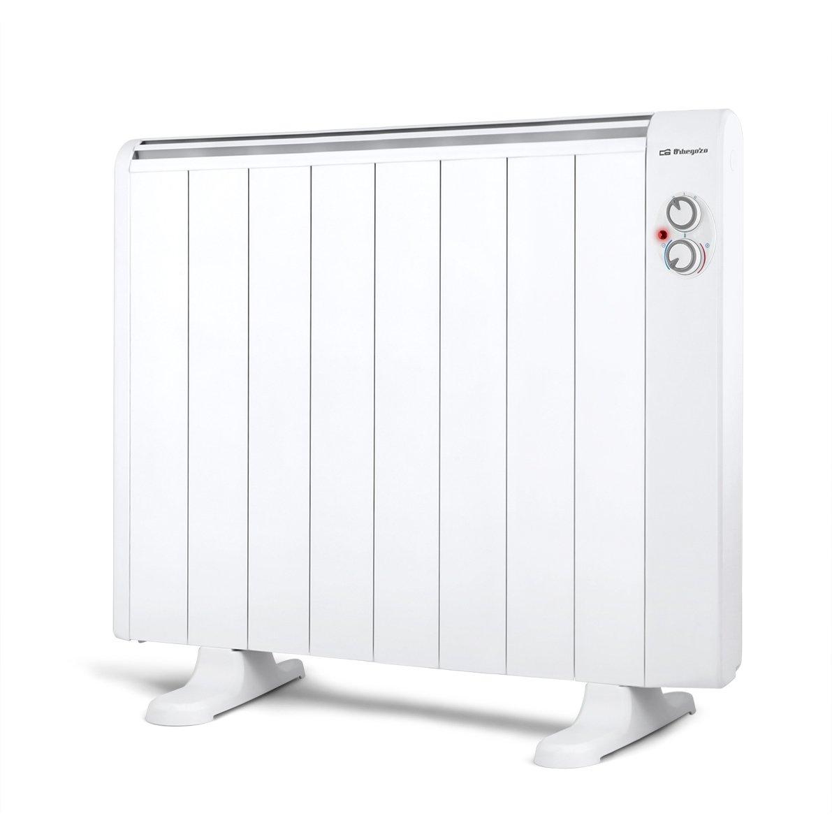 Orbegozo RRM 1510 Emisor térmico de bajo Consumo sin Aceite, 1500 W, Color Blanco: Amazon.es: Hogar