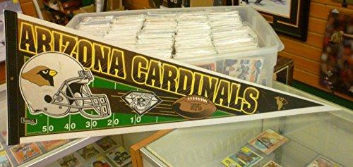 (NFL Football - 1994 Arizona Cardinals Felt Pennant - New Old Stock)