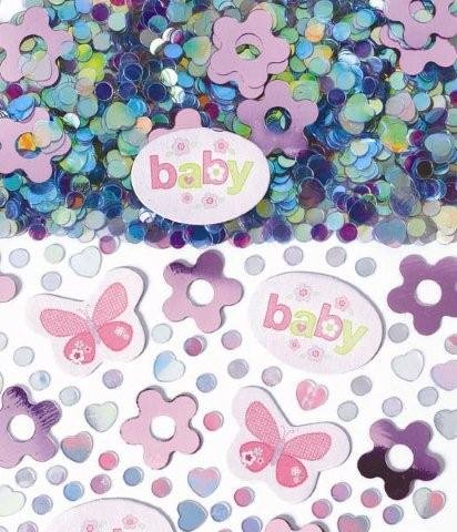 Carter's Girl Confetti 1/2oz by Party America